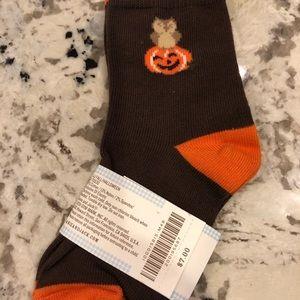 Janie and Jack Halloween socks New 2T-3